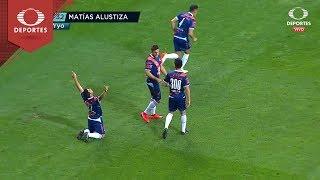 Gol de Matías Alustiza | Chivas 1 - 3 Puebla | Clausura 2019 - J15 | Televisa Deportes