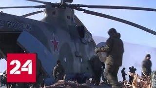 Смотреть видео Военные специалисты покидают Бурейское водохранилище - Россия 24 онлайн