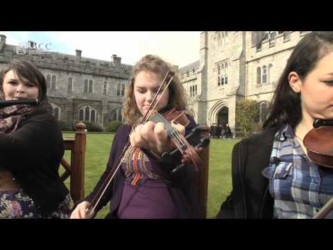St Patrick's week on the Quad- Traditional Music and Dance at University College Cork