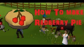 How to make a Redberry Pie in Runescape 2007- Nerf