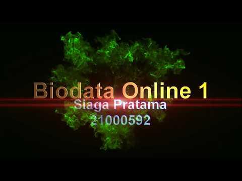 Form Biodata Online Part 1