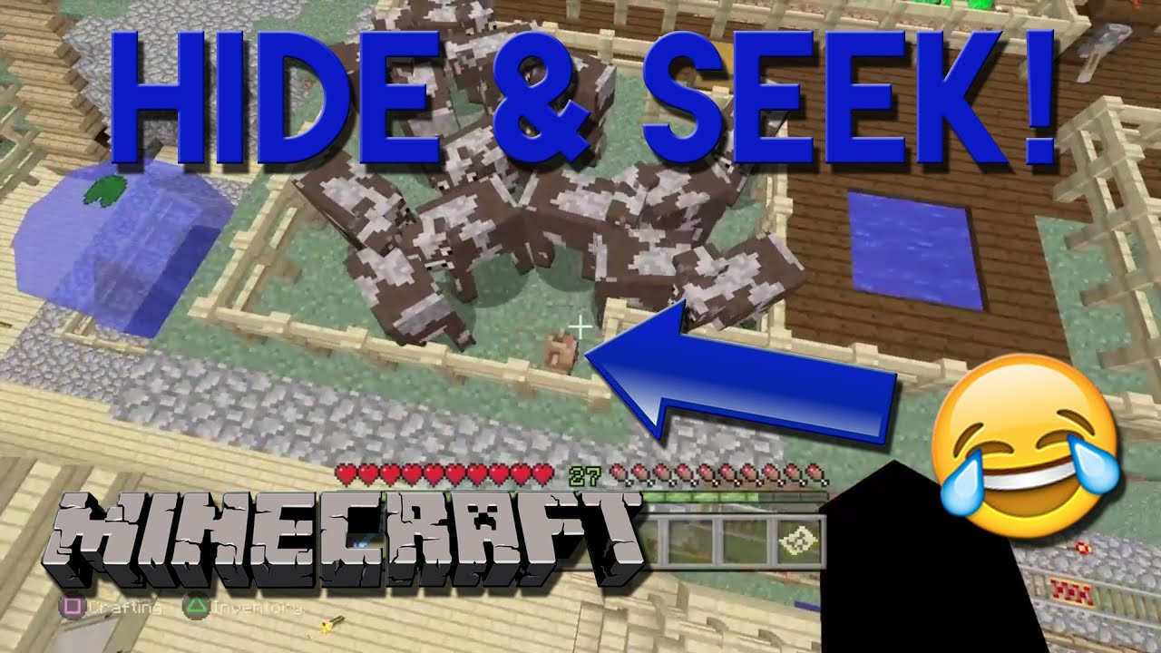 Hilarious Minecraft Hide Seek With Friends Op Skins Minecraft Funny Moments