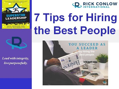 7 Tips for Hiring the Best People-Leadership Training