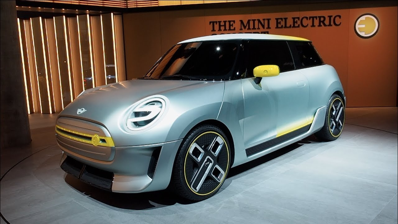 The All New Mini Electric Concept 2018 In Detail Review Walkaround