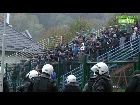 Kibice na meczu Polonia Przemyśl - JKS Jarosław (Puchar Polski)