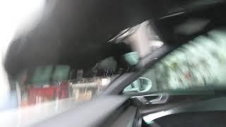 신형 아우디 A7 차량에 하이패스구간등을 편리하게 주행…