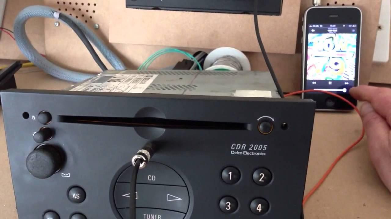 medium resolution of vauxhall cdr 2005 wiring diagram