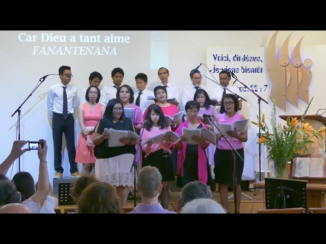 Dieu a tant aimé le monde - Concert