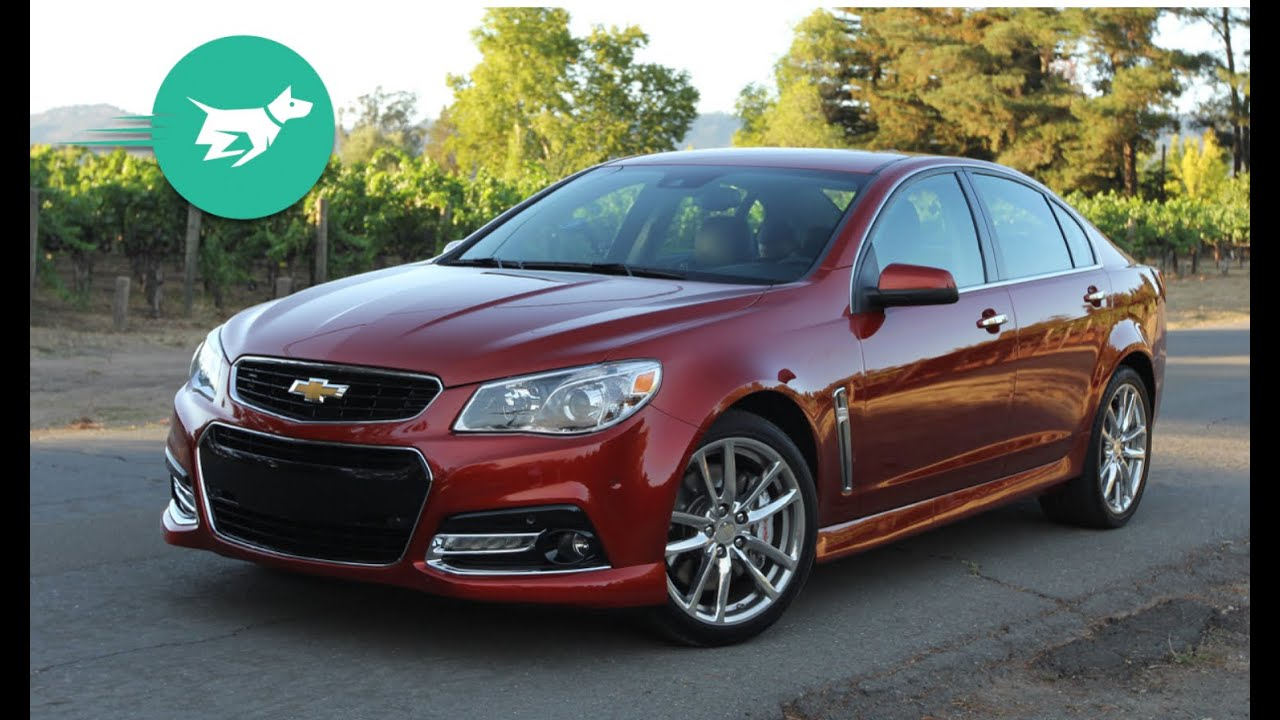 2015 Chevrolet SS Review - YouTube