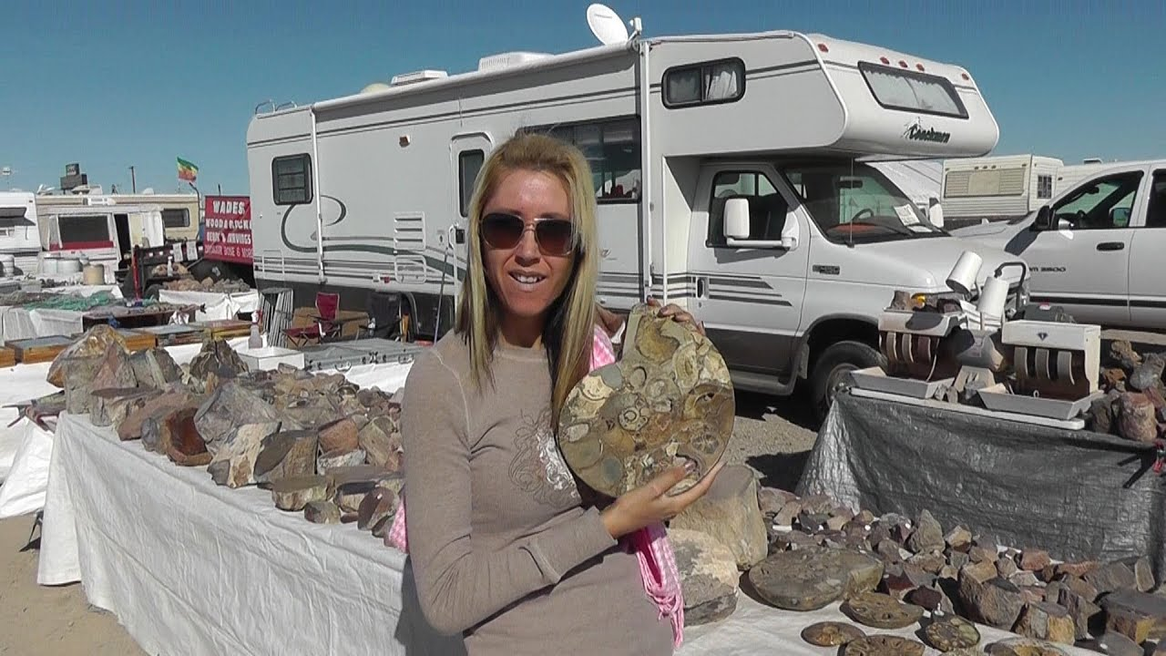 Rock and Gem Show Quartzsite Arizona