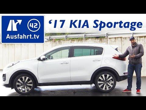 2017 KIA Sportage 1.7 CRDi DCT Spirit (QL) - Kaufberatung, Test, Review