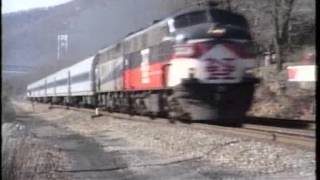 Trains in New York State 1998.