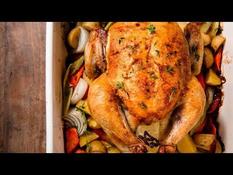 How To Make A Juicy Whole Roast Chicken | Delish Insanely Easy