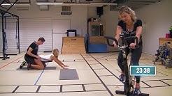 Een hele spannende fitnessoefening   Mensenkennis