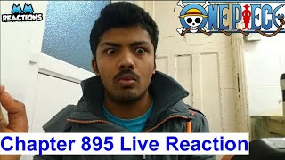Luffy vs Dogtooth Greatness!!! - One Piece Manga Chapter 895 Live Reaction