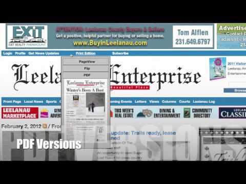 Advertising on the Leelanau Enterprise Website