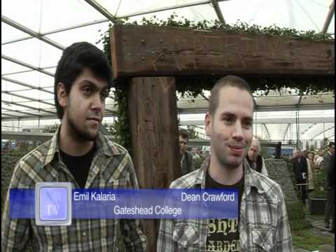 Chelsea Flower Show - Gateshead Council 2009