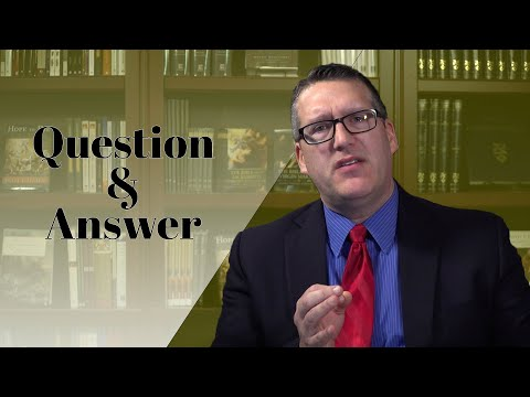 The Bible and the Mass: Professor Curtis Mitch Answers Questions from Lessons 1 and 2