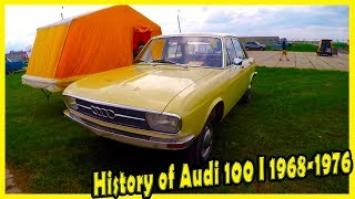Old German Cars Audi 100 I 1973 Documentary 2018. Classic Cars Show 2018