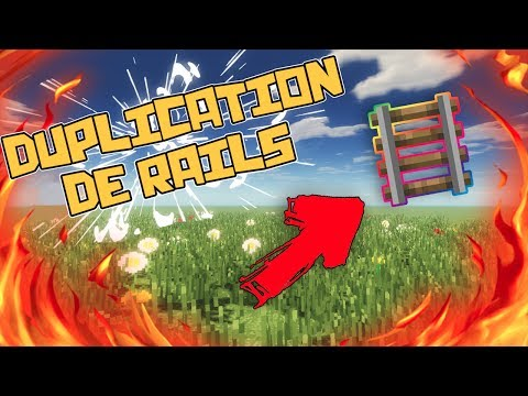 GLITCH DUPLICATION DE RAILS MINECRAFT CONSOLE PS VITA PS3 PS4 XBOX WII U SWITCH