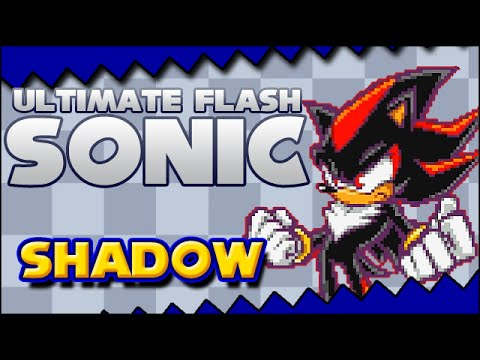 Shadow Playthrough (+ Password) - Ultimate Flash Sonic
