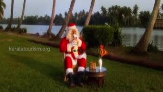 Santa in gods Own Backwater