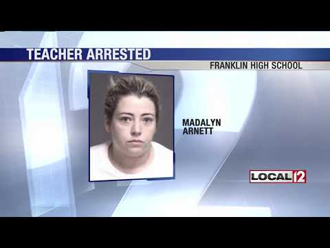 Franklin High School teacher charged with sexual battery for conduct with student