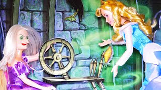 Sleeping Beauty Story for Kids ! Toys and Dolls Fun Playing With Disney Princesses | SWTAD Kids