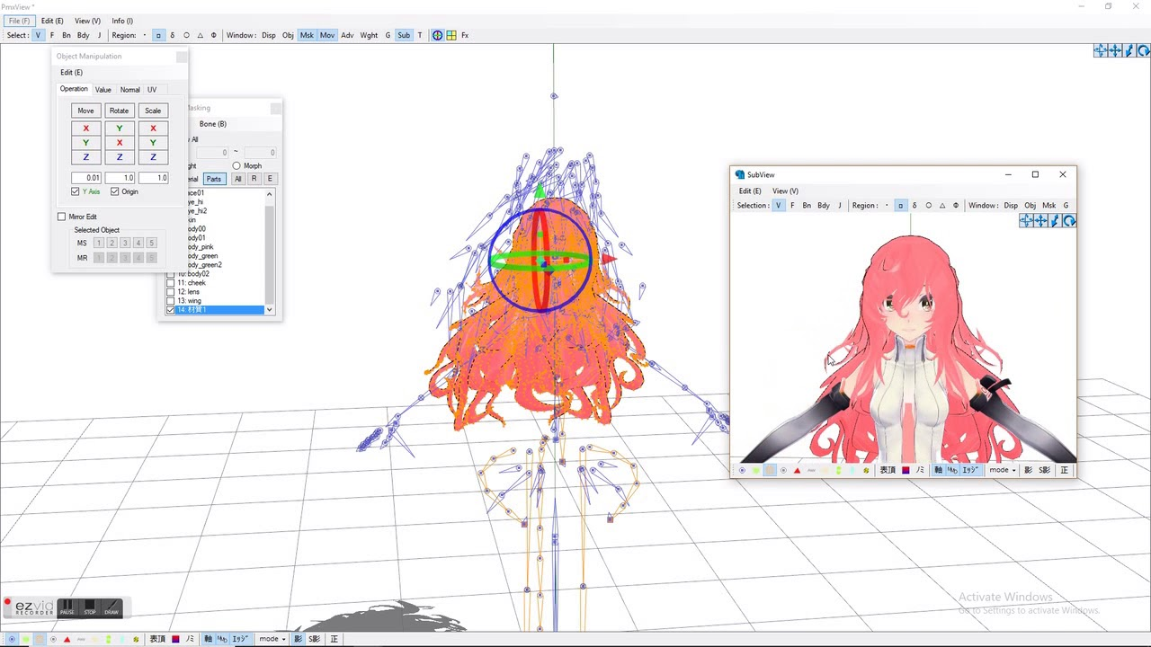 Mmd Pmd Updated How To Edit Pre Existing Models In Pmx And Pmd