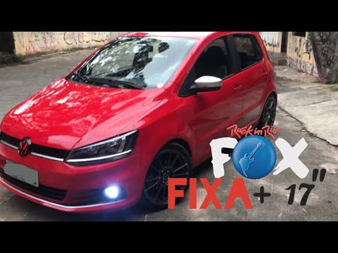 VW FOX ROCK'N RIO   FIXA + ARO 17 + ESCAPE (PONTEIRA INOX 3