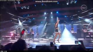 Nicki Minaj and Ariana Grande 2015 NBA All Star Halftime Performance