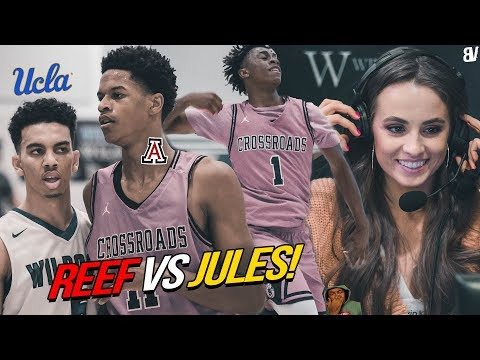 Shareef O'Neal VS UCLA Bound Jules Bernard! DJ Houston TAKES OVER w/ Rachel, BD & Nate Rob Watching!