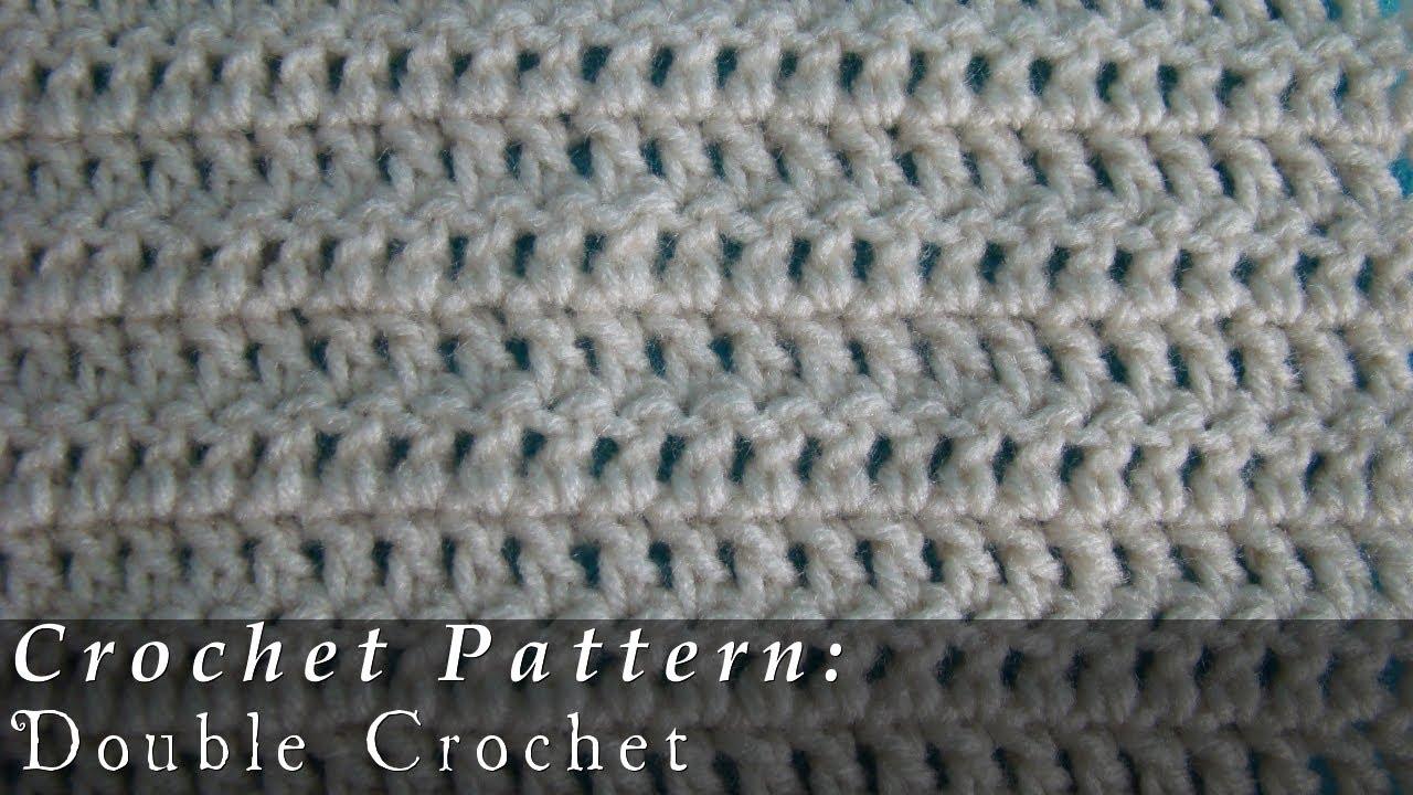 Double Crochet Pattern Crochet Challenge 3 63 Youtube