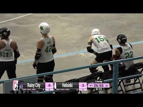 Rainy City Vs Helsinki - 2019 International WFTDA Playoffs: Winston-Salem Game 7