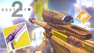 Destiny 2: Gameplay PvP - NUEVO SNIPER Y EXÓTICO!