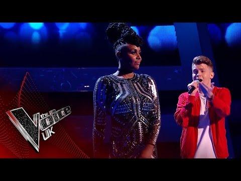Stacey Skeete Vs. Jamie Miller - 'Perfect Strangers': The Battles   The Voice UK 2017