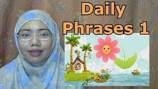 [LEARN MALAY] 231-Daily Phrases part I
