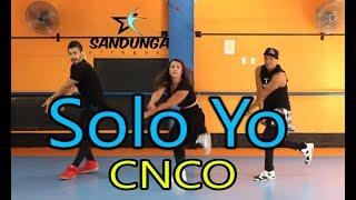 Solo Yo - Cnco - zumba # Coreografia Sandunga