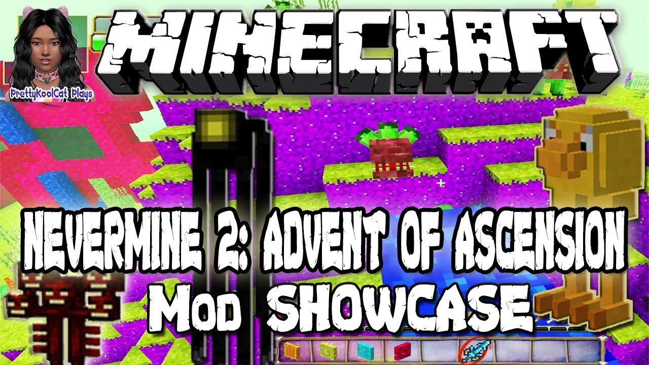 minecraft nevermine 2 advent of ascension mod showcase. Black Bedroom Furniture Sets. Home Design Ideas