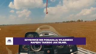 Lot szybowcem nad Zamkiem Książ video