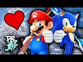HOLDING HANDS! - Mario & Sonic Winter Olympics 2014 (Part 1 of 2)