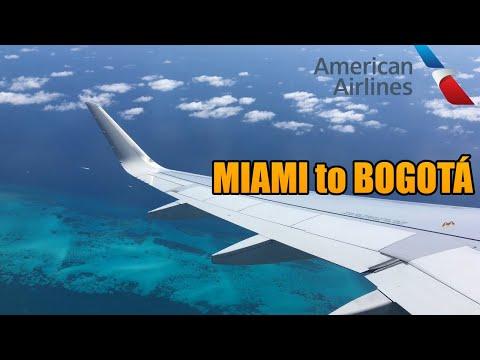 Miami Bogota MIA-BOG | American Airlines | Airbus A319 (#40)
