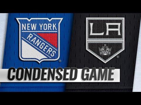 10/28/18 Condensed Game: Rangers @ Kings
