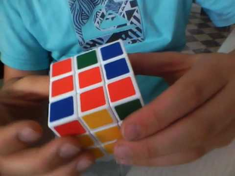 l sung des rubiks cube zauberw rfel youtube. Black Bedroom Furniture Sets. Home Design Ideas