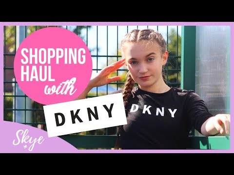 HUGE Shopping Haul With DKNY! | SKYE #ad