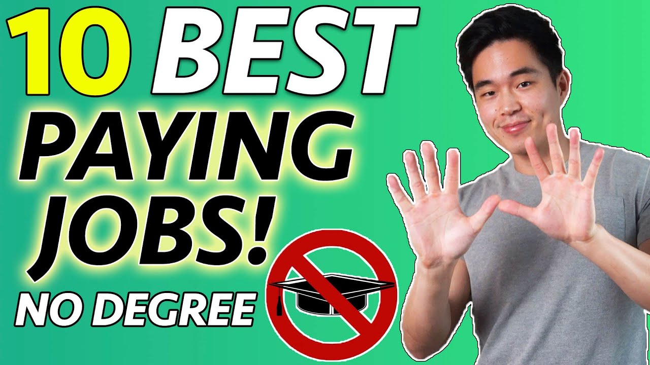 10 Highest Paying Jobs (No College Degree Required) DO NOT MISS!!!