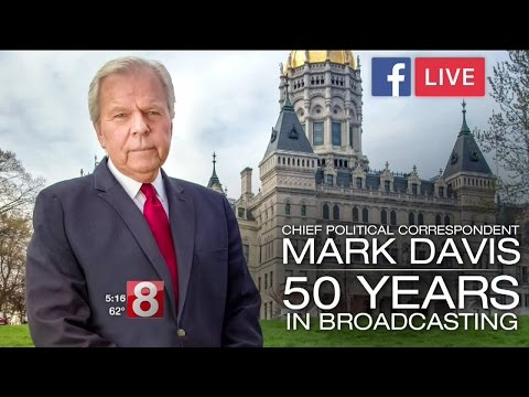 Chief Political Correspondent Mark Davis Celebrates 50 Years in Broadcasting