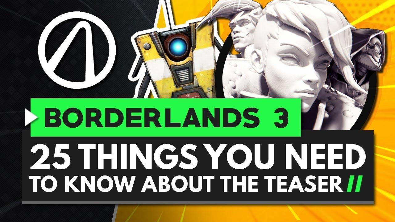 Borderlands 3 Teaser Shift Code and Hidden Messages Revealed