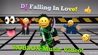 DJ Falling In Love [ROBLOX Music Video] - ft. RDT & Draco