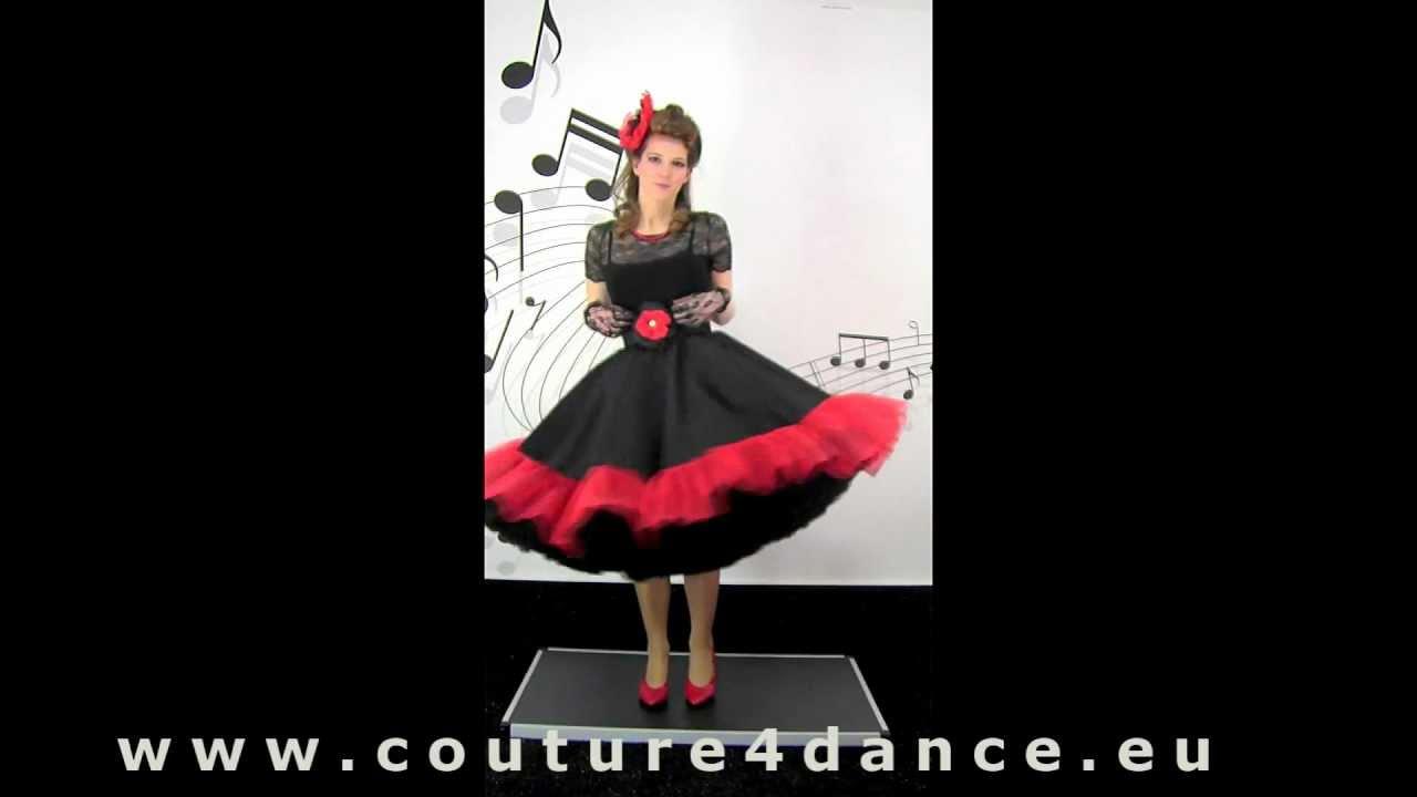 Tellerrock / Circleskirt  Rüsche + Shirt Claire
